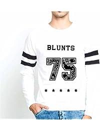 Veirdo Casual Fullsleeve T Shirt With Sports Trim For Men - Blunt 75