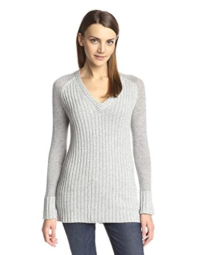 Cullen Women's Marl Rib V-Neck Sweater
