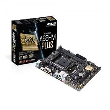 ASUS A68HM A68HM-PLUS PLUS-AMD A68H DUALDDR 3-2133 SATA RAID HDMI DVI