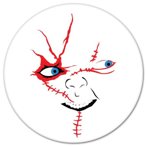 Chucky horror movie sticker decal decal 4