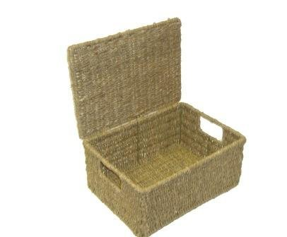 SeaGrass Storage Box With Lid