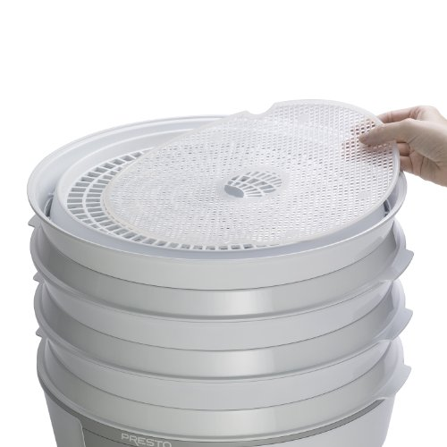 Best Price! Presto 06307 Dehydro Electric Food Dehydrator Nonstick Mesh Screens