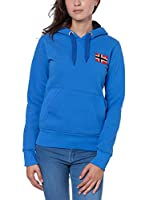 Geographical Norway Sudadera con Capucha Genifer (Azul / Rojo)