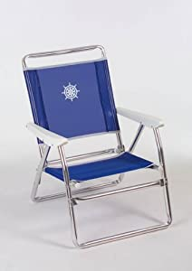 forma marine folding beach chair plaz frame anodized. Black Bedroom Furniture Sets. Home Design Ideas