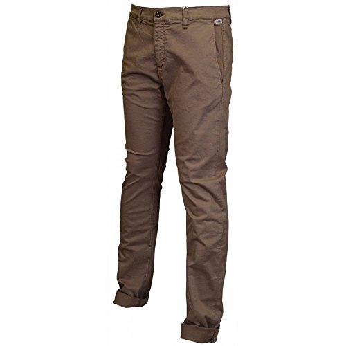 Franklin & Marshall -  Pantaloni  - Uomo Brown 30W/Regular