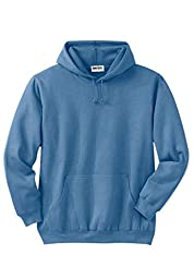 Kingsize Men\'s Big & Tall Fleece Pullover Hoodie, Legend Blue Big-6Xl