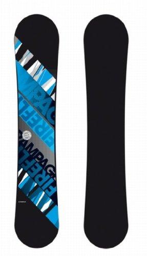 Firefly Snowboard Rampage schwarz/blau/grau + Firefly Soft-Bdg.A7Men Set