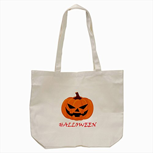 [big pumpkin ghost halloween Tote Bag Cream color] (Good Story Book Character Costumes)