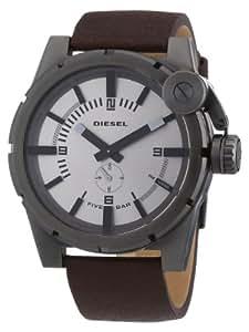 Diesel Herren-Armbanduhr XL Bad Company Analog Quarz Leder DZ4238