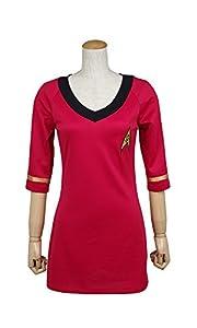 Trust Costume Star Trek Costume Cotton Female Duty Short-short sleeved Uniform