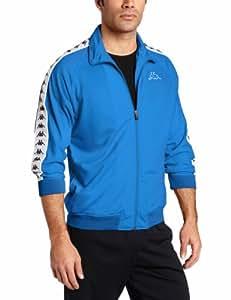 Kappa Men's Banda Anniston Track Jacket, Italian Blue, Small