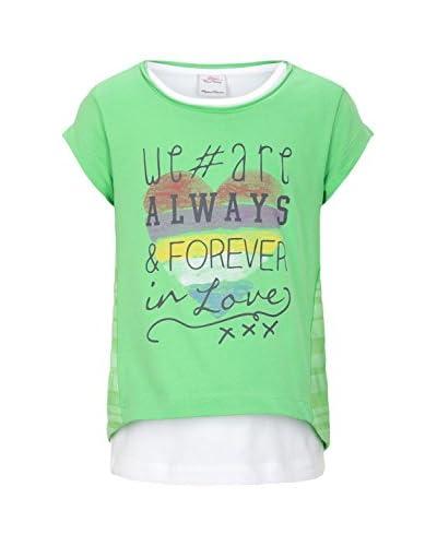 s.Oliver Camiseta Manga Corta Verde Claro