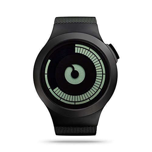 ZIIIRO-SATURN-Unisex-Digital-Watches-Black