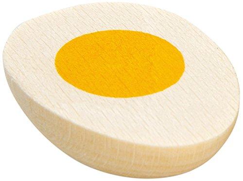 Erzi Ei, halb, Spielzeug-Ei, Holz-Ei, Kaufladenzubehör