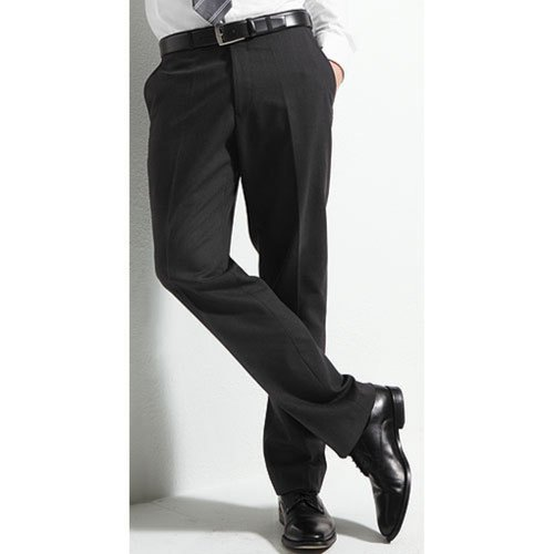 Men`s Suit Trousers Super120`s Marzotto charcoal grey 46 (36 Regular)