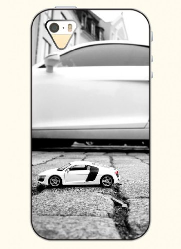 Oofit Phone Case Design With Mini Car For Apple Iphone 4 4S 4G front-535814