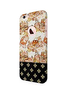 Cover Affair Girly Paris / Pattern Printed Back Cover Case for Apple iPhone 6S