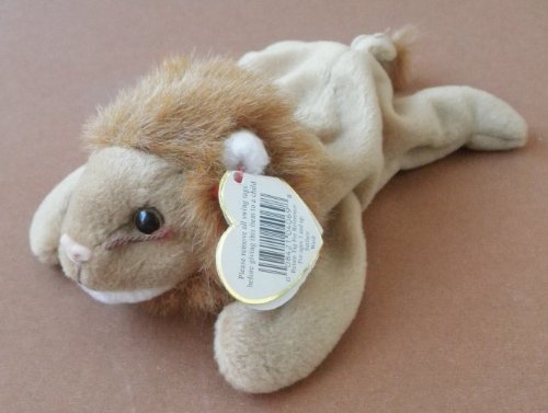 TY Beanie Babies Roary the Lion Plush Toy Stuffed Animal
