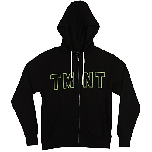 Teenage Mutant Ninja Turtles Classic Heads Adult Hoodie - Black