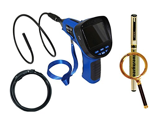 "Blueskysea Free Gift Gel Pen + 8.5Mm 3.5"" Inspection Snake Camera Endoscope Borescope Dvr+3M Extension Cable"