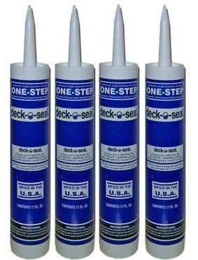 4 PACK - DECK-O-SEAL One Step Gray 11 oz. 4705012 (Deck O Seal compare prices)
