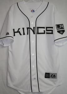 NHL Los Angeles Kings Men's Replica Jersey, XX-Large, Pro White/Pro Black