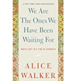 We Are the Ones We Have Been Waiting for: Inner Light in a Time of Darkness (Paperback) - Common
