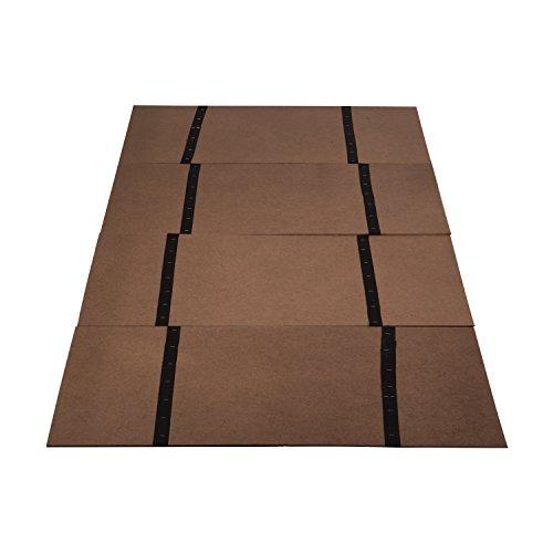 Dmi Folding Bed Board Bunky Board Twin Size Brown
