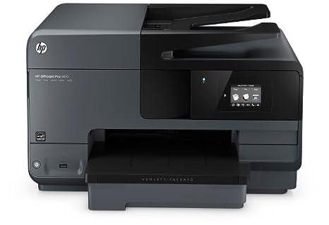 HP OfficeJet Pro 8610 Imprimante multifonction jet d'encre 19 ppm Wi-Fi Noir