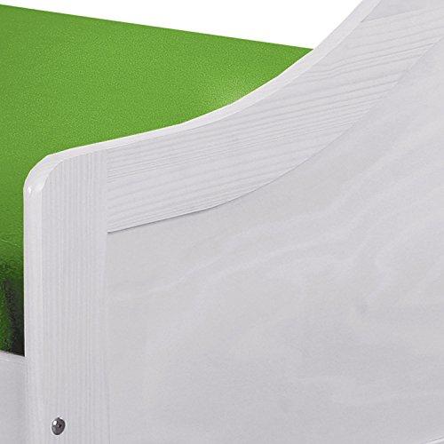 Links 20900215 Leonie Lit Banquette Teinté Blanc 209 x 97 x 66 cm