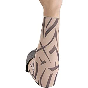 Fake tribal tattoo sleeves size small toys for Tattoo sleeves amazon