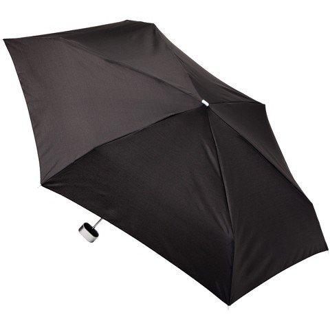 totes-manual-purse-umbrella-with-case-black