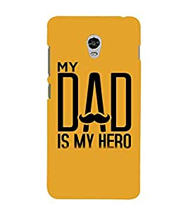 Vizagbeats My dad is my hero Back Case Cover for Lenovo Vibe P1