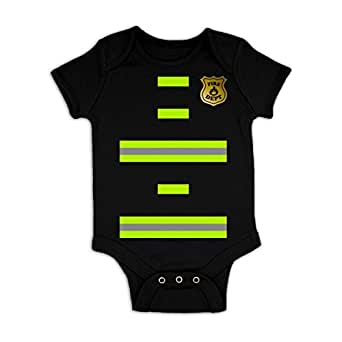 Firefighter Costume Baby Grow