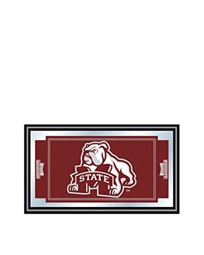 Trademark Global Mississippi State University Logo & Mascot Framed Mirror