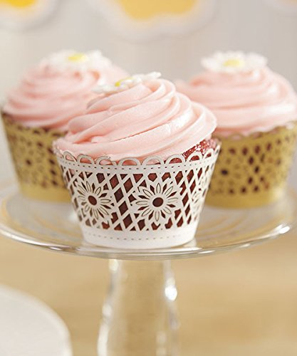 Floral-Art-Deco-Filigree-Paper-Cupcake-Wrappers-Gold