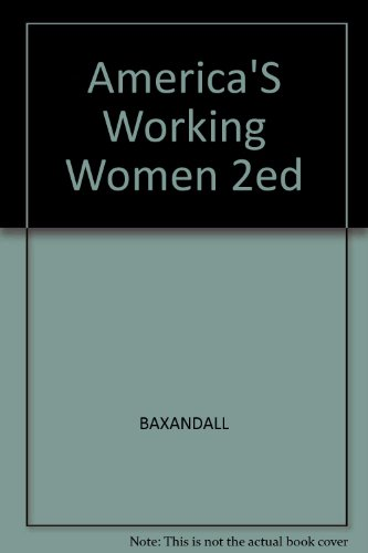 America's Working Women: A Documentary History 1600 to the Present