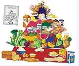 Little Folks Visuals Food Pyramid Flannelboard Set