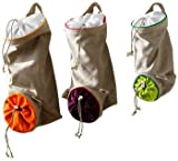 Mastrad Storage Bags - Garlic, Onion, Potatoe, Set of 3