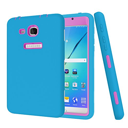 Galaxy Tab A 7.0 Case Darmor [Heavy Duty] [Kickstand Feature] PC+Silicon Hybrid Protective Three Layer Armor Defender Full Body Protective Case for Samsung Galaxy Tab A 7.0 Inch (SM-T280 / SM-T285)