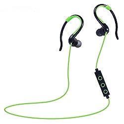 Imported Huast Bluetooth Headset Sports Earphone Green