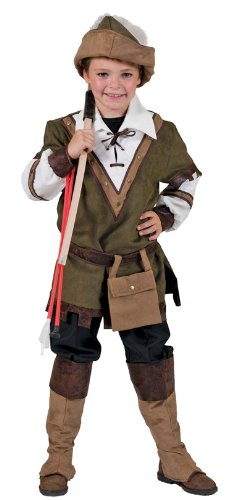 Funny Fashion Sherwood Forest Robin Hood Kids Costume