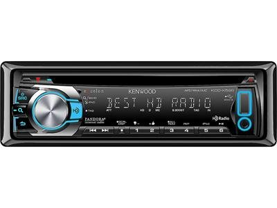 Kenwood Excelon Kdc-X596 Car Cd/Mp3 Player - 88 W Rms - Ipod/Iphone Compatible