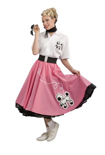poodle skirt waitress