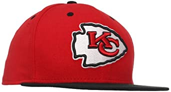 NFL Kansas City Chiefs Two Tone 59Fifty Fitted Cap by New Era