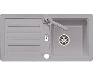 Eurodomo Einbauspüle Eurostone PRIMA 45 Granit Grau  BaumarktKundenbewertung: