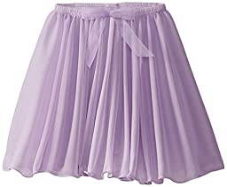 Capezio Little Girls\' Children\'s Collection Circular Pull-On Skirt, Lavender, Small