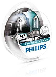 Philips 12972XVS2 Lot de 2 ampoules de phare X-treme Vision H7