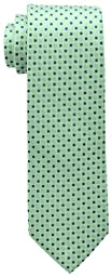Tommy Hilfiger Men\'s Core Neat I Tie, Green, One Size