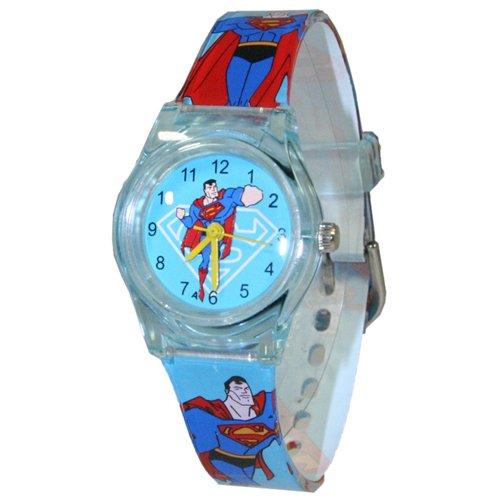 Superman Children Analogue Watch Blue S